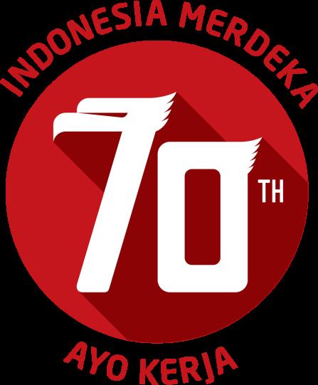 logo tema hut ri ke 70 tahun 2015